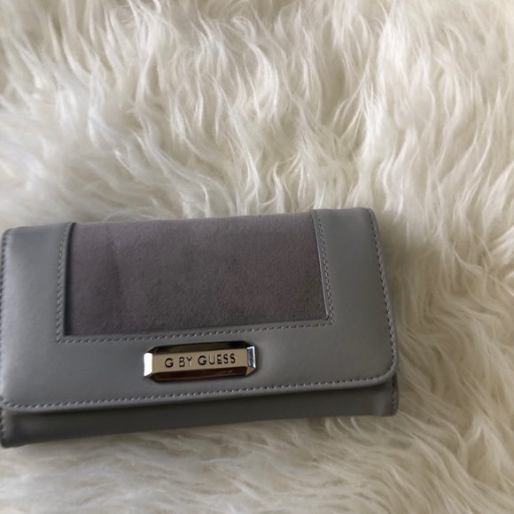 G by Guess Handbags - G by guess silver wallet